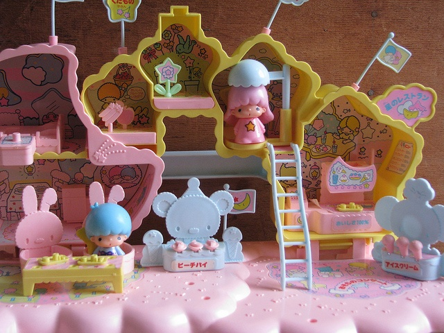 Little Twin Stars vintage playset by Siri_Mae_doll, via Flickr