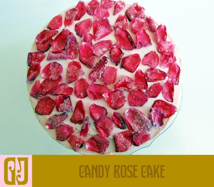 Candy Rose Cake
