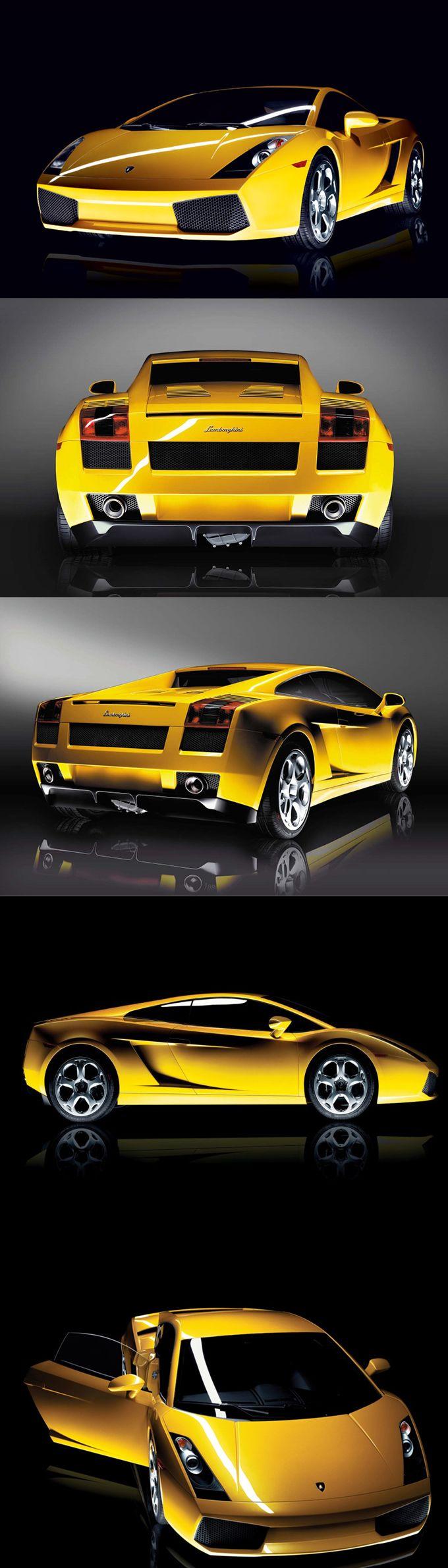 2006 Lamborghini Gallardo / Luc Donckerwolke / 513hp V10 / Italy / yellow