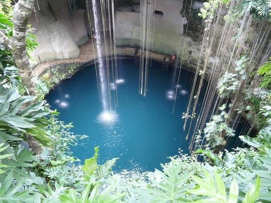 Spettacolare Cenote... #tulum #messico #yucatan