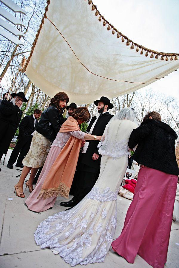 Traditional Orthodox Wedding Chuppah