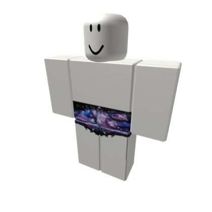 High waisted galaxy shorts - ROBLOX