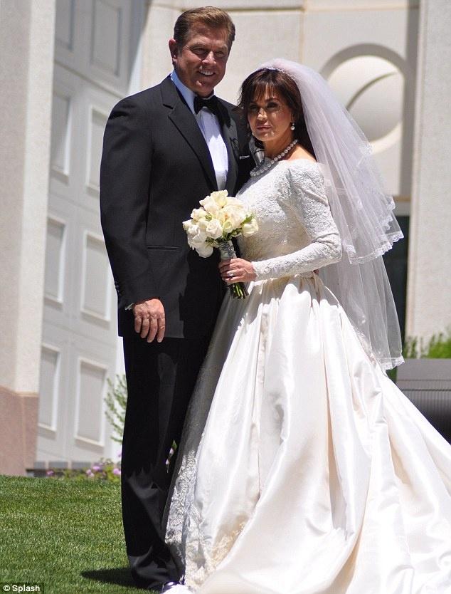 Marie Osmond Hochzeitsfotos
