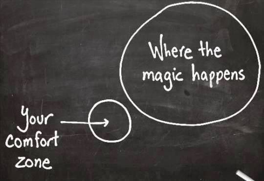 Already Have My 2014 New Year's Resolution Picked...Get Out of My Comfort Zone!