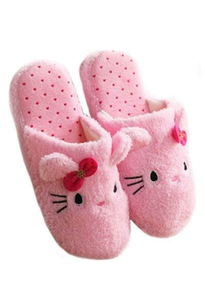 Lovely Cat Closed Toe Woman Terry #Slippers - OASAP.com `•.❤ FREE SHIPPING + 2014 Christmas Holiday Deals From $3.9, Ship Within 24 Hours!
