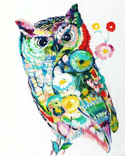 Cool owl drawings - photo#23