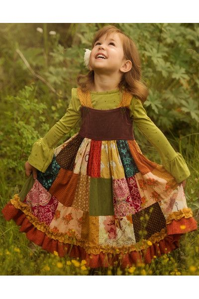 SC - I'd like that as a fall blanket Patchwork Dress