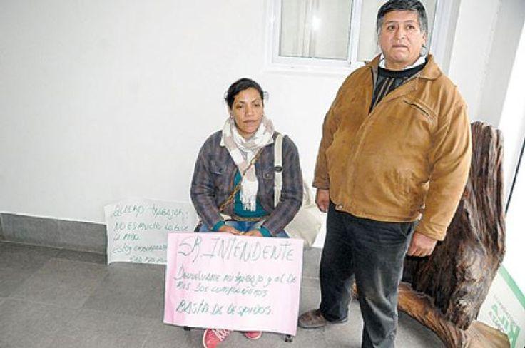 Campaña por la reincorporación de una embarazada: Ramona Cabezas transita el cuarto mes de un embarazo de riesgo. Siendo de planta…