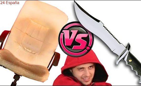 CUCHILLO vs SILLA GAMER 💫 (al fin!)