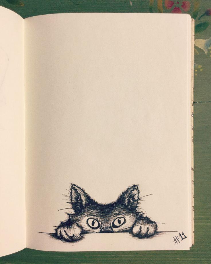 #inktober Day 11 - Kitty