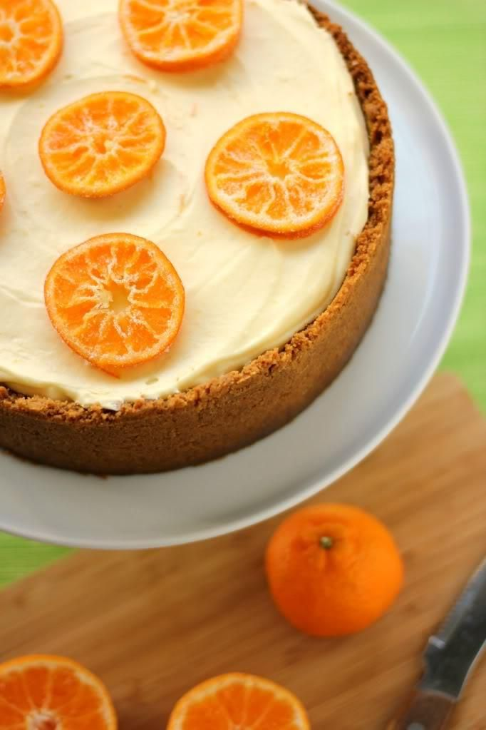 How To Make Clementine Mousse Cheesecake Desserts Recipe
