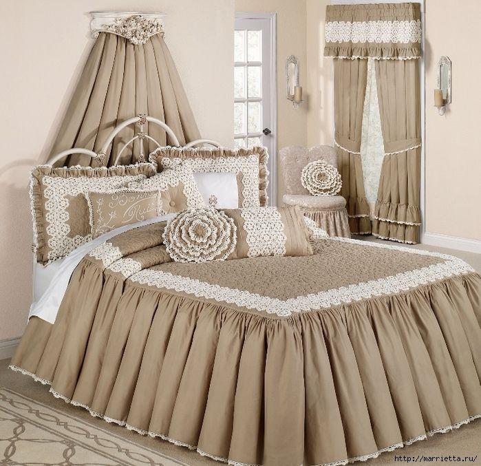Текстиль в спальне. Шикарные идеи (2) (700x677, 378Kb)
