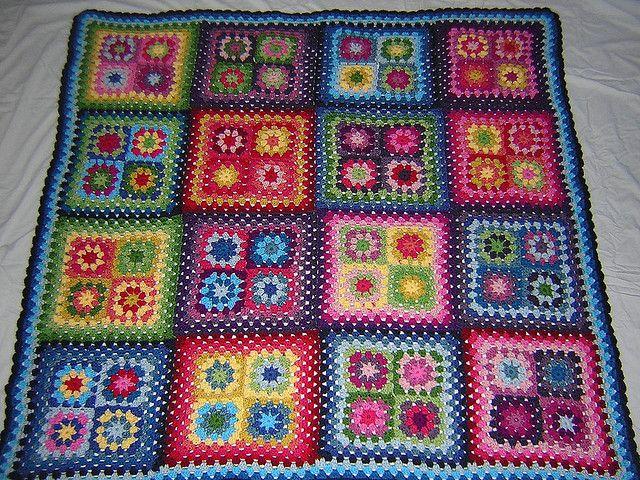 Big (Medium) Blanket - finished! by snippygal, via Flickr