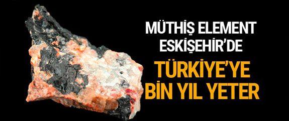 Nükleer enerjinin gelecekteki yakıtının uranyuma alternatif olan radyoaktif element olan toryum olabileceği görüşü sonrası gözler Türkiye'ye çevrildi.