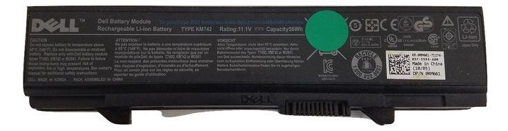 OEM Genuine Dell KM742 6 Cell Battery | 11.V 56Wh RM661 | E5400 E5500