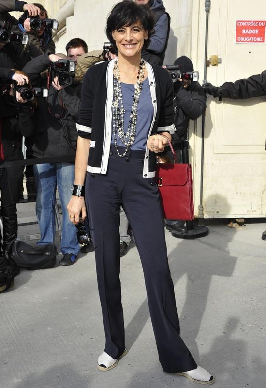 17 best images about ines de la fressange on pinterest blazers parisians and navy blazers - Mari d ines de la fressange ...