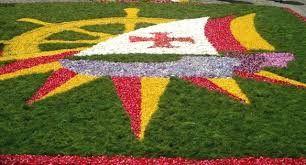 Image result for Tapetes de Flores - Corpo de Deus