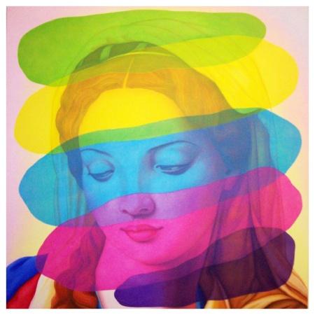 Face Value, 2011 by Annette Bezor, Australia