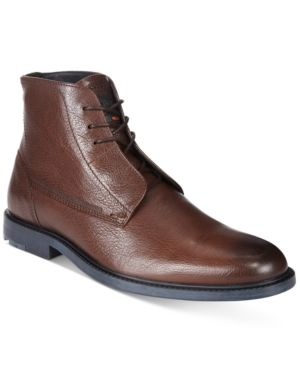 Boss Orange Men's Cultroot Lace-Up Boots - Brown 11