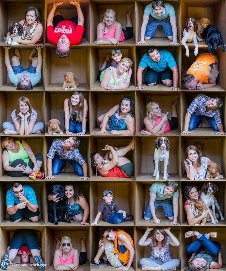 Awesome family photo! Definately my fave photo project to date! © Theresa Muench Photography