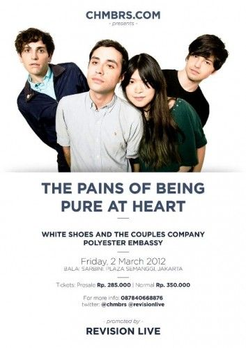 Tonight! The Pains of Being Pure At Heart - Live in Jakarta