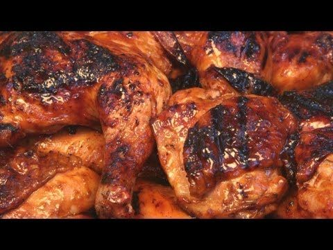 Molasses BBQ Chicken Recipe | BBQ Pit Boys - 1/4 cup Apple Cider Vinegar, 1/2 cup Brown Mustard, 1 cup Molasses