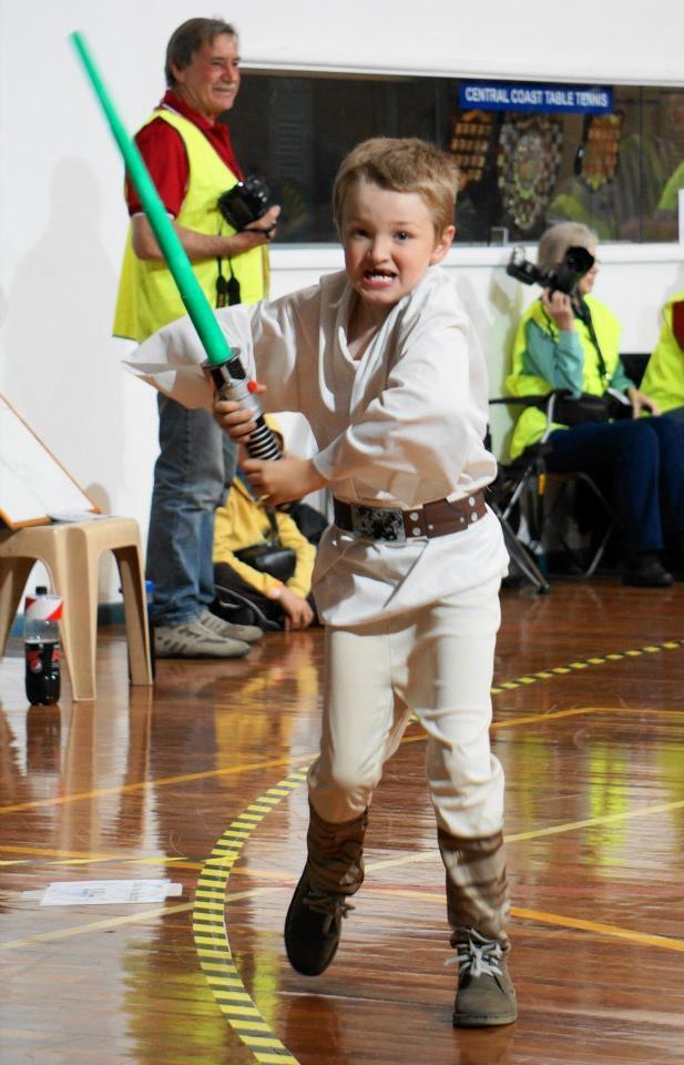 No 1 Fan! Luke Skywalker - Roller Derby