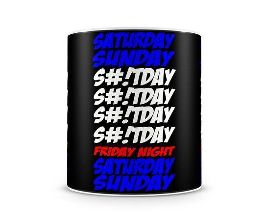 Caneca - Shitday é mais um produto para se usar no trabalho para dar aquela discontraida no ambiente