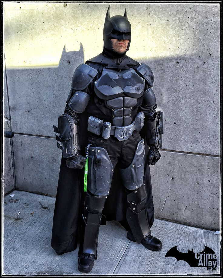 My Batman Arkham Origins NYCC 2015 Costume Cosplay homemade Crime Alley FX