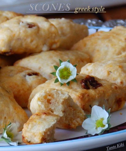 Tante Kiki: Τα Μεσογειακά scones και ο... οβελίας