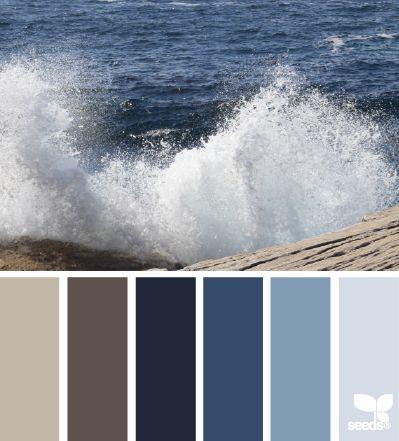 17 Best Ideas About Ocean Color Palette On Pinterest