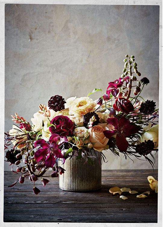 wedding-ideas-17-01162015-ky-Sullivan-Owen-for-BHLDN-Yellow-Plum-Wine-Ranunculus-Clematis