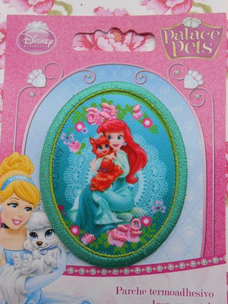 Toppe termoadesive - Ariel Principessa Disney Applicazione Ricamata - un prodotto unico di raffasupplies su DaWanda