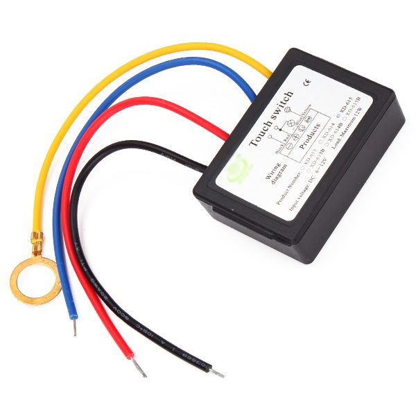 Dc6 12v On Off Touch Switch For Led Diy Lamp Accessories With Images Led Diy Diy Lamp Light Accessories