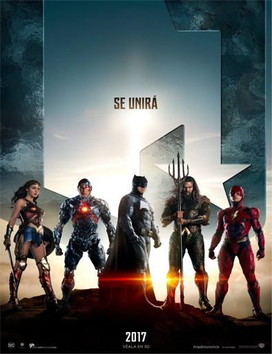 Poster de Justice League (La Liga de la Justicia)