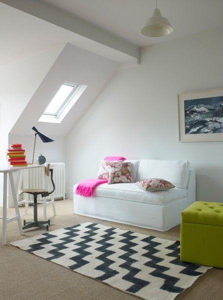La stanza per gli ospiti in #mansarda  http://www.mansarda.it/da-sottotetto-a-mansarda/una-stanza-per-gli-ospiti-in-mansarda/