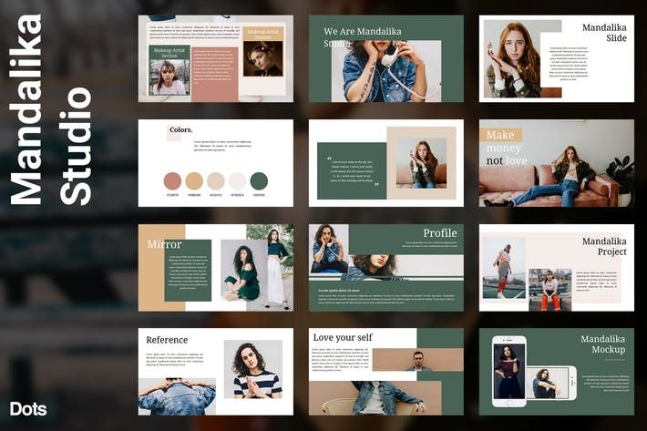 Mandalika Powerpoint Tamplate By Graptailstudio On Envato Elements
