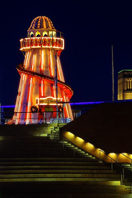 Helter Skelter - Liverpool - England - Place for the Queen's Coronation Party in Manchester in 1953 later restored and transferred to Liverpool