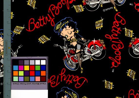 Betty Boop Fabric By The Yard Harley Davidson Motorcycle Leathers Fishnet Stockings Hawg Red Harley Leopard Bra Night Harley Davidson Fabric Fabric Fabric Sale