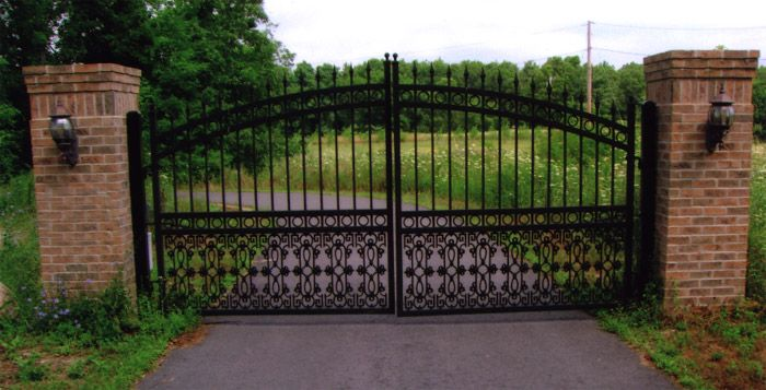 Wrought Iron Entry Gates Google Search Outdoor Spaces
