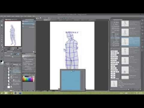 clip studio paint how to add reference