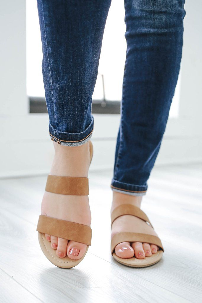 4a12d5fe56b35 Browse-H Strappy Sandals - UOIOnline.com