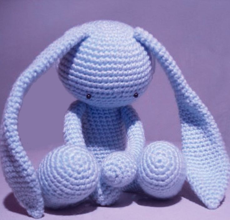 Amigurumi Bunny Knitting Pattern : 17 Best images about Crochet Amigurumi Bunny / Rabbit on ...