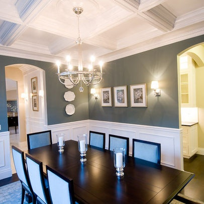 Traditional Dining Wainscoting Design Ideas, Pictures, Remodel And Decor