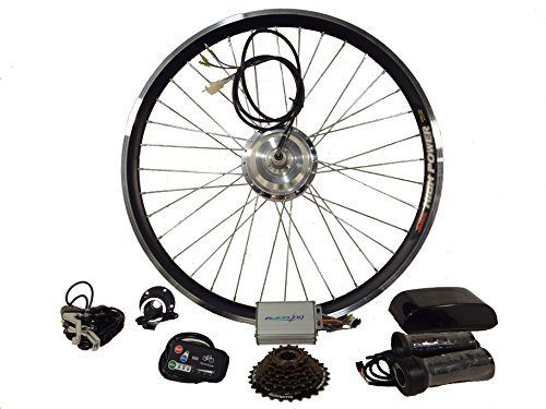 24v 500w 700c rear geared hub motor ebike ebikeling electric bicycle conversion kit