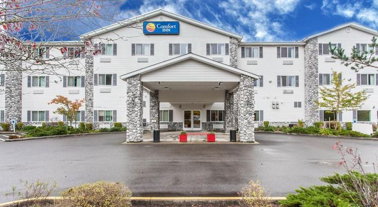 Comfort Inn Conference Center Tumwater Tumwater The Comfort Inn Conference Center is directly off Interstate 5, just minutes from downtown Olympia and the Washington State Capitol building.