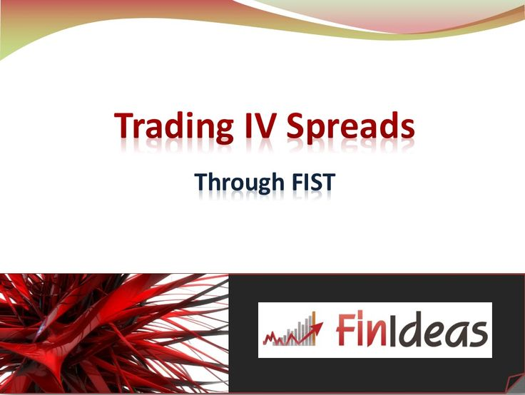 Trading Implied Volatility Spreads through FIST