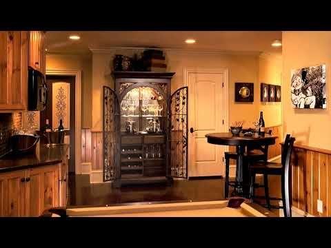 Прохладный Подвал Идеи Игровая комната Дизайн - YouTube
