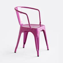 Tolix Chair 'A56' Madder and Rouge $495