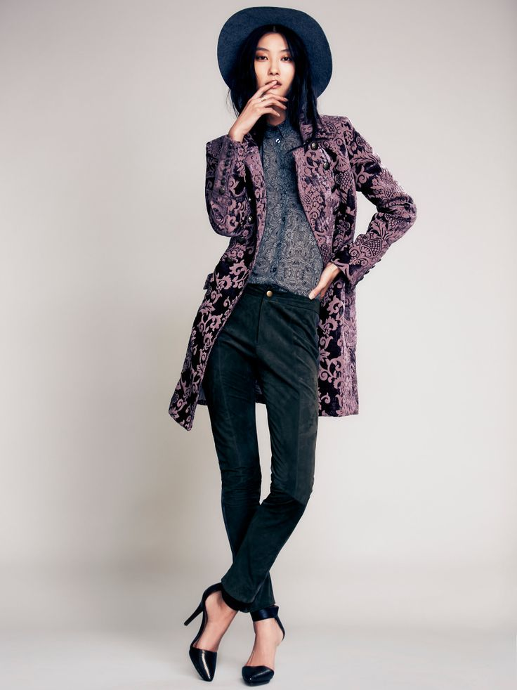 Free People Brocade Coat, kr 2053.82